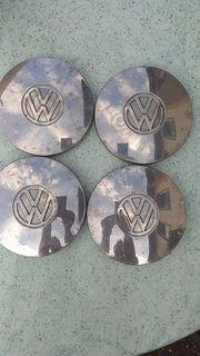 4 Original VW Radkappen