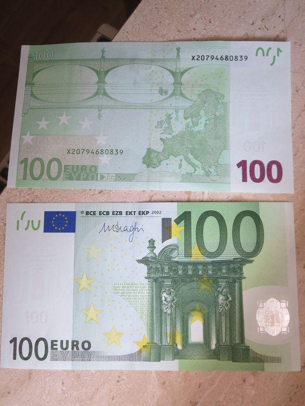 alte Geldscheine D