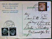 Briefmarken Postkarte Deutsches Reich