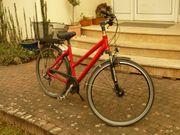 Campus Damenrad Farbe rot RH