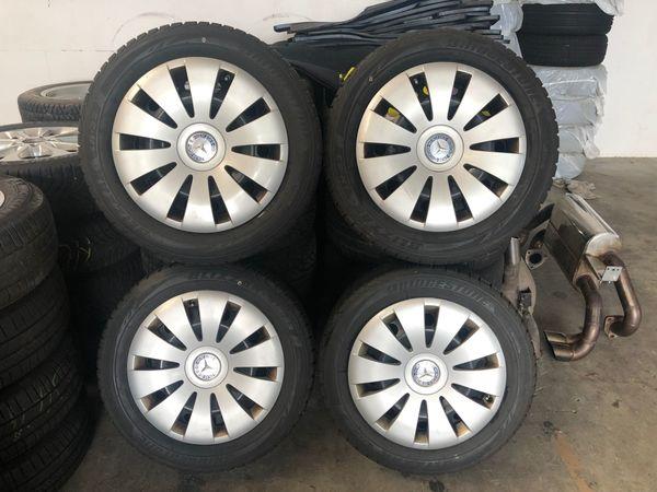 4 Felgen Mercedes A - B -