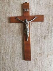 Antiquität Rarität Kruzifix Jesus am