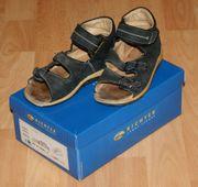 Dunkle Sandalen - Größe 27 - echtes Leder