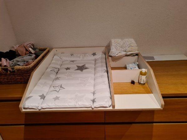 Wickelaufsatz für IKEA Malm Kommode
