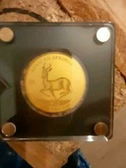Verkaufe eine Gold Münze 999er