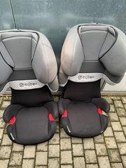 2x Kindersitz Cybex Silver Solution