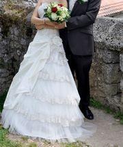 Brautkleid Hochzeitskleid Größe 34 mit