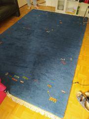 Teppich blau 300 x 200