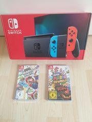 Nintendo switch neon-rot neon-blau neue