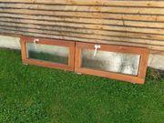 Holzfenster klein