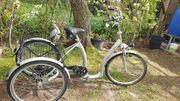 26 24 zoll Dreirad für