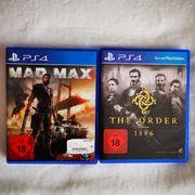 2x PS4 Spiele
