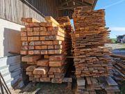 Neues Fichtenbauholz