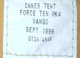 Campingartikel - Vango classic Jaffa Look Mk4