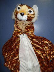 Erwachsenenkostüm Tiger Plüsch ca 180