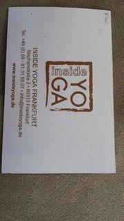 Yoga 10 Karte Inside Yoga