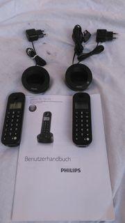 Biete Schnurlostelefon mit 2 Mobilteilen