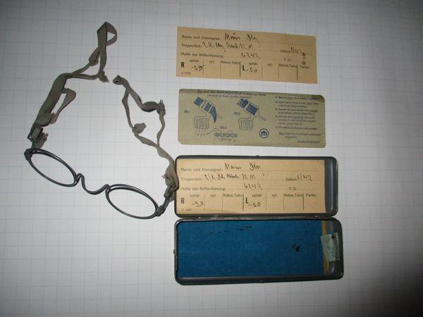 Dienst-Brille aus dem Jahr 1943
