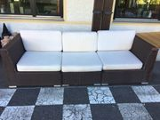 Lounge-Outdoor Couch zu verschenken