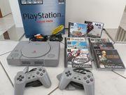 PlayStation 1 mit 8 Spielen