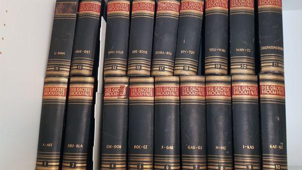 Der große antik Brockhaus18 Bände