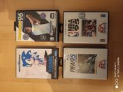 4 Sega Mega Drive Spiele