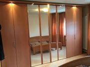 Schlafzimmer Schrank Bett Nachttische Hülsta