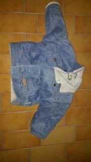 2 blaue gefütterte Jacken Gr