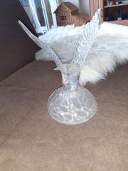 Adler aus Glas