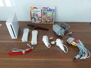 Wii Spielekonsole mit 2 Mario