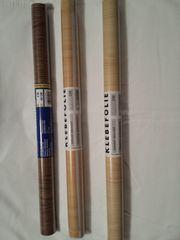3 x Klebefolie Holz