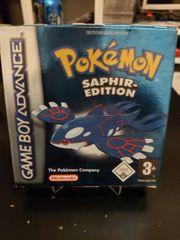 Pokemon Saphir in OVP