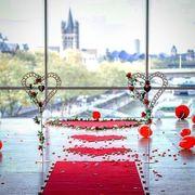 Heiratsantrag Hochzeitsbogen Traubogen Dekoverleih Banner