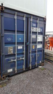 Lagercontainer Seecontainer Lagerplatz Schiffscontainer Lagerfläche