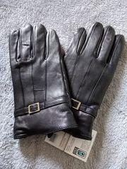 Neu mit Etikett Ziegennappaleder Handschuhe