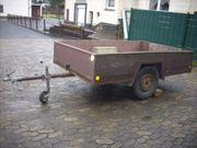 PKW Anhänger 750 Kg TÜV