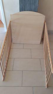 Kinderbett Babybett ca 140x70cm Farbe
