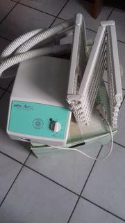 Luftsprudelbad - Massagegerät - Infrarot-Licht - Einstieghilfe für Wanne
