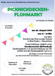 Picknickdeckenflohmarkt 25 8 2019