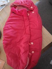 Maxi Cosi - pinkfarbener Fußsack