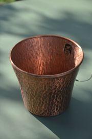 Kupfer Topf Übertopf hübsch dekorativ