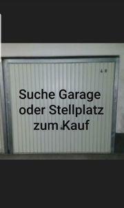 Suche Garage oder Stellplatz zum