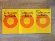 3 Bänder von Technische Mechanik