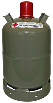 Gasflasche Propangas 11kg NEU befüllt