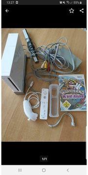 Nintendo Wii mit einem Spiel