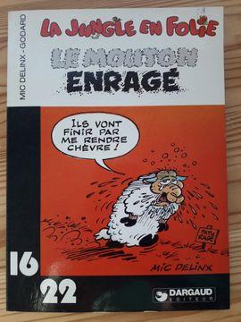 Sonstige Sammlungen - 16 22 Comics französisch