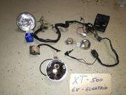 XT -500 6V-Elektrik
