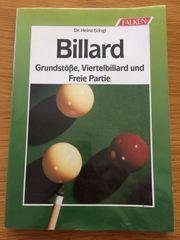 Billard Grundstöße Viertelbillard Freie Partie