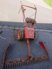 Balkenmäher Bucher M100 mit Gitterräder