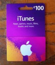 iTunes 100EUR